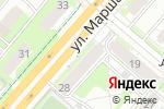 Схема проезда до компании Трио в Перми