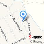 Березка на карте Чесноковки