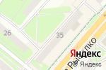 Схема проезда до компании Top secret в Перми