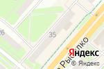 Схема проезда до компании Философия красоты и здоровья в Перми