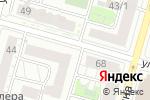 Схема проезда до компании ABC в Уфе