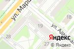 Схема проезда до компании Печати Перми в Перми