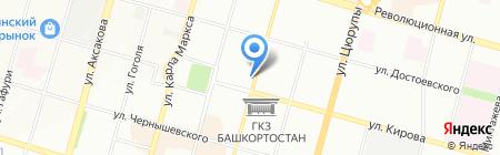 УралПромСтрой на карте Уфы