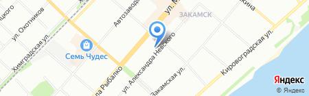 ПермСервис на карте Перми