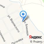 Ветеринарная станция на карте Чесноковки