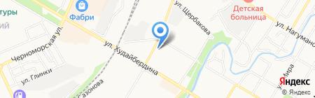 Нотариус Малышева Т.А. на карте Стерлитамака