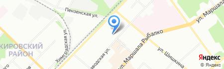 Детский сад №111 на карте Перми