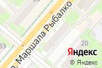 Схема проезда до компании Адвокатский кабинет Тарасовой Е.В. в Перми