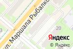 Схема проезда до компании ДЮСШОР Кировского района в Перми