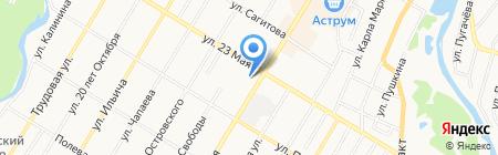 Ладья на карте Стерлитамака