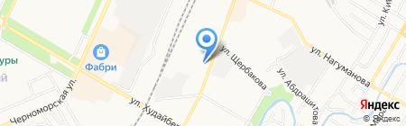 Уфимская механизированная дистанция на карте Стерлитамака