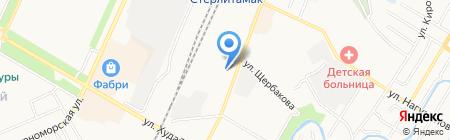 Спринт на карте Стерлитамака