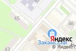 Схема проезда до компании Кружевница в Перми