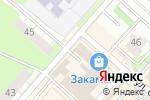 Схема проезда до компании Шиномонтажная мастерская на Автозаводской в Перми