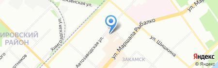 Мода-М на карте Перми