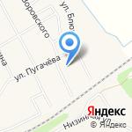 Газетный двор на карте Чесноковки