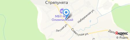 Стряпунинский сельский дом культуры на карте Стряпунят