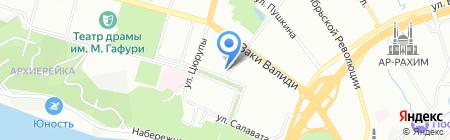 Прополис на карте Уфы