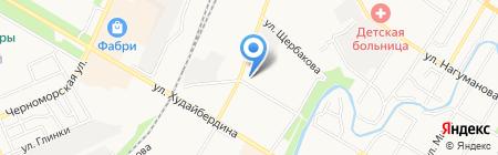 Банкомат АБ РОССИЯ на карте Стерлитамака
