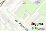 Схема проезда до компании English plus в Перми