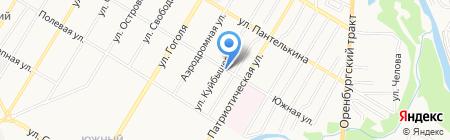 Автосервис на ул. Куйбышева на карте Стерлитамака