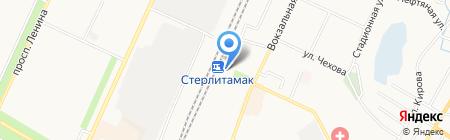 Банкомат Банк ВТБ24 на карте Стерлитамака