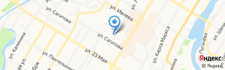 Мастерская по ремонту обуви на ул. 7 Ноября на карте Стерлитамака