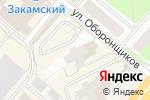 Схема проезда до компании Золотой ключ в Перми