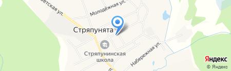 Нефтяник на карте Стряпунят