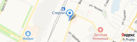 Мастерская по ремонту обуви и кожгалантереи на Вокзальной на карте Стерлитамака