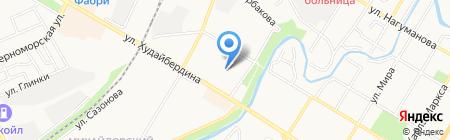 Детский сад №11 на карте Стерлитамака