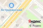 Схема проезда до компании Шоколадная долина в Перми