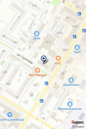 ГАММА ОПТОВО-РОЗНИЧНАЯ ФИРМА на карте Стерлитамака