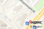 Схема проезда до компании Людмила в Перми