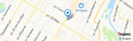 Банкомат АКБ РОСБАНК на карте Стерлитамака