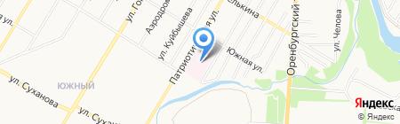 Детская поликлиника на карте Стерлитамака