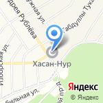 Хасан-Нур на карте Чесноковки
