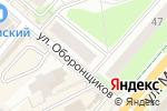 Схема проезда до компании Mila в Перми