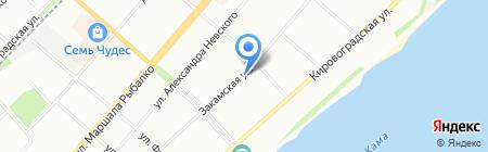 Пермское городское Управление гражданской защиты на карте Перми