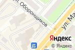 Схема проезда до компании Птица в Перми