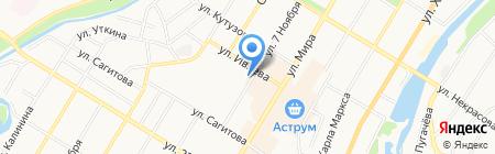 СССР-двери на карте Стерлитамака