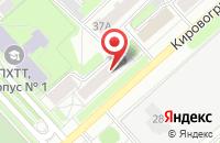 Схема проезда до компании Золотой ключик в Уфе