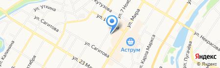 Велорай на карте Стерлитамака