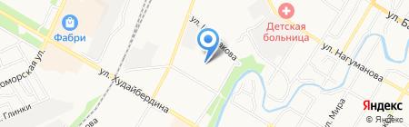 Гимназия №1 на карте Стерлитамака