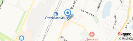 География на карте Стерлитамака