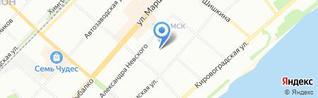 Детский сад №281 на карте Перми