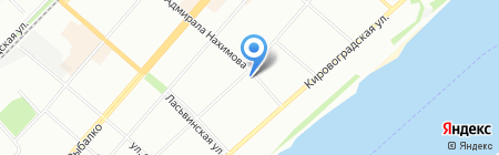 Zakamsk-59 на карте Перми