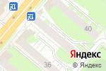 Схема проезда до компании Карандаш в Перми