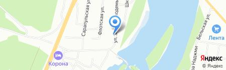 Строй Арт-Уфа на карте Уфы