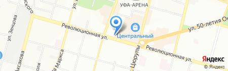 Детский сад №114 на карте Уфы